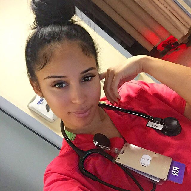 15 Photo of Worlds Sexiest Nurse Kaicyre Palmers