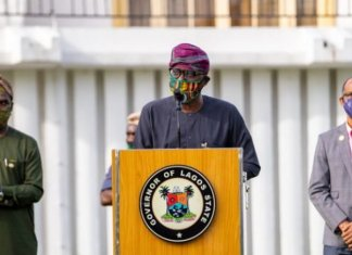 Lagos State Governor, Sanwo-Olu