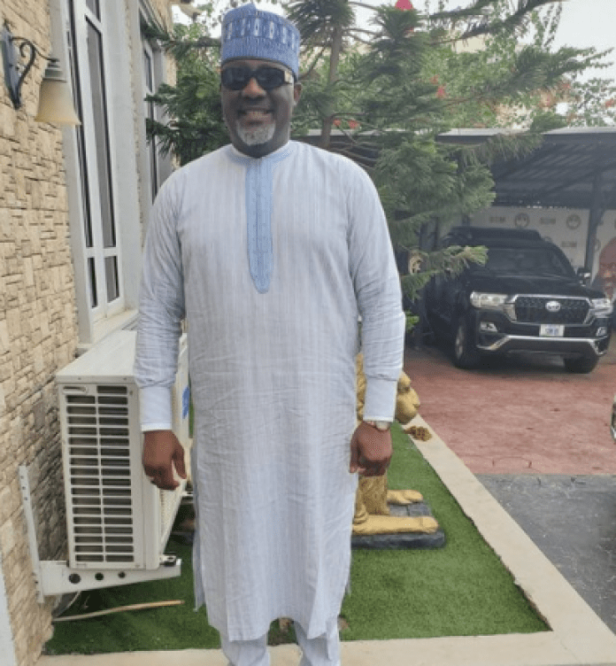 Dino Melaye Makes Debut Appearance In Nollywood