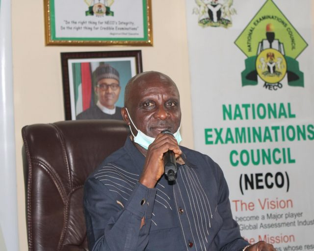 NECO Registrar, Prof. Godswill Obioma