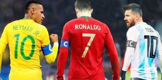 Ronaldo Messi Neymar
