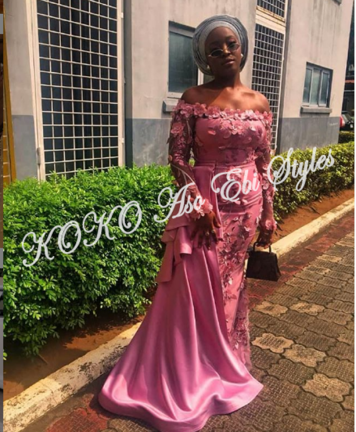 Turn Up For Your Next Owambe In These Glamorous Aso Ebi Styles