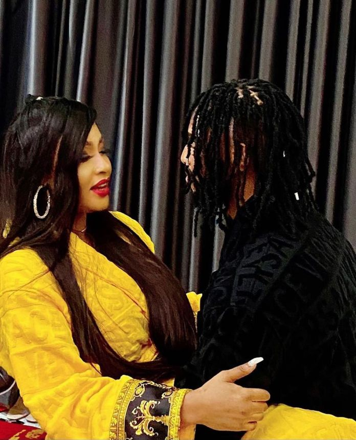 Angela Okorie And Young Lover