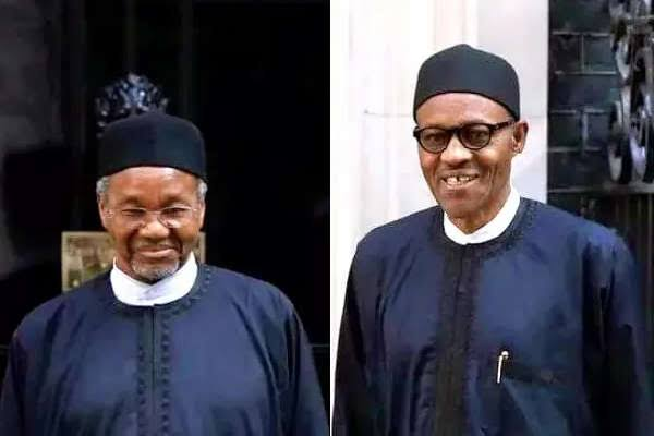 Mamman Daura and Muhammadu Buhari