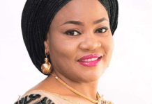 Benue State Governor's Wife Eunice Ortom, Son And Staff Test Positive To COVID-19