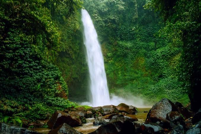 Travel. waterfalls