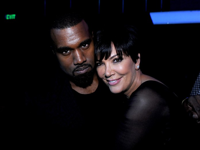 Kanye West And Kris Jenner Make Peace