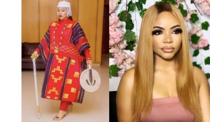Toyin Lawani Shades Nengi  Who Called Her An 'Amoeba' While Dating Her Baby Daddy