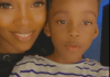 Tiwa Savage and son Jamil
