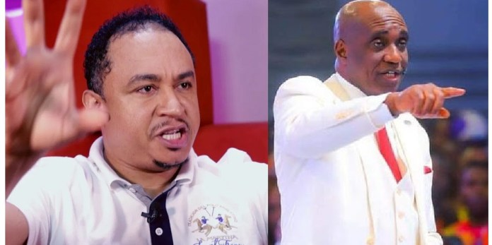 Pastor Ibiyeomie Curses Daddy Freeze For Insulting Bishop Oyedepo