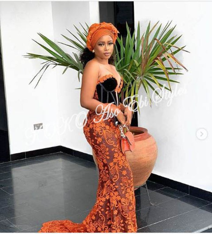 Serve Major Hotness In These Alluring Aso Ebi Styles