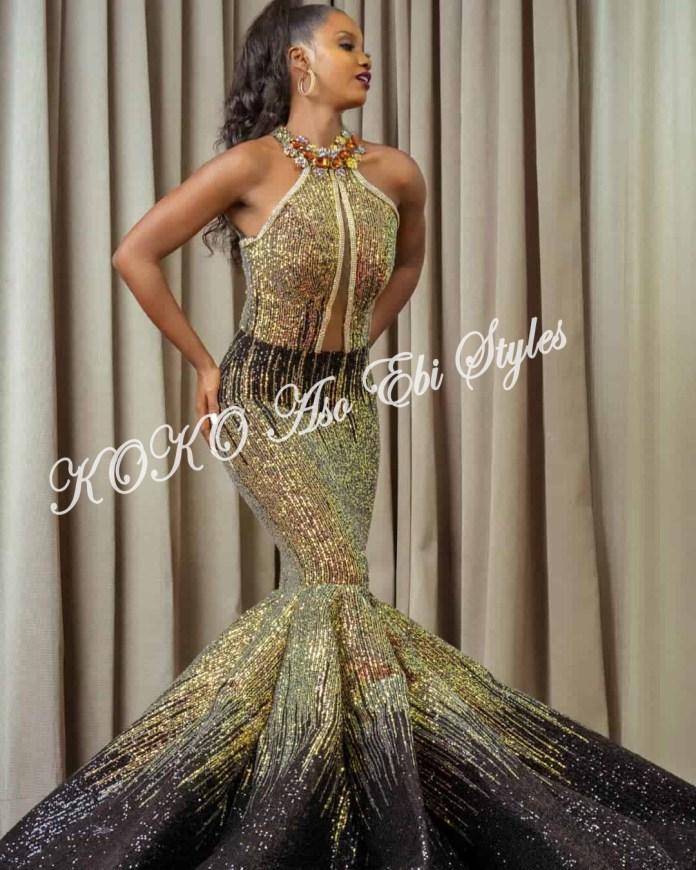 Aso Ebi Ball Gowns designs
