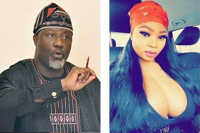 Dino Melaye Slams Model Roman Goddess