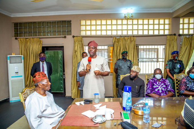 Gov. Makinde Releases N100m For Renovation Of Soun's Palace, N1m To Families Of Slain Victims