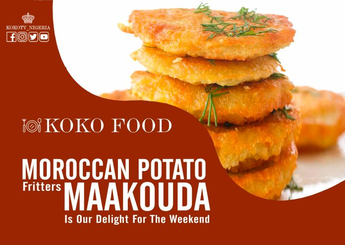 Moroccan Potato Fritters Maakouda Is Our Delight For The Weekend
