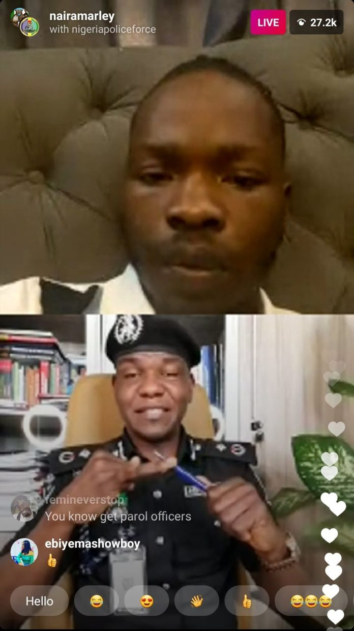 End SARS: Frank Mba In A Chat Naira Marley