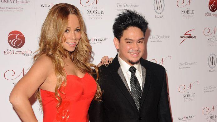 Prince Azim and Mariah Carey