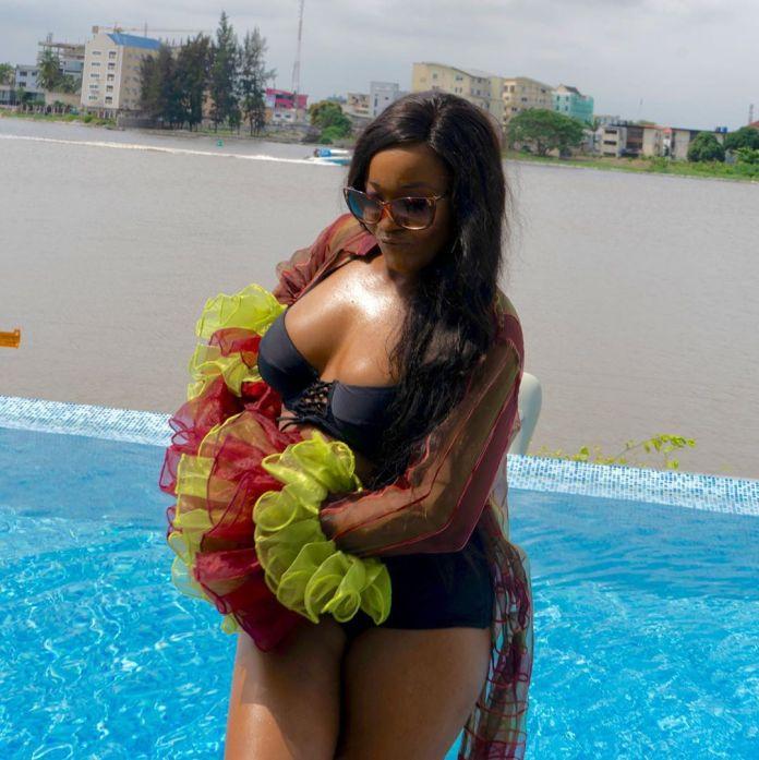 BBNaija Star, Lucy Shows Off Bikini Body In New Snaps