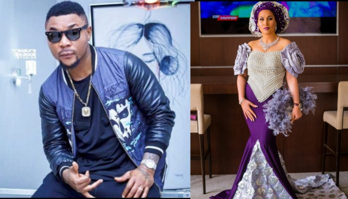 Oritsefemi Calls Out Caroline Hutchings Amidst Marriage Crisis