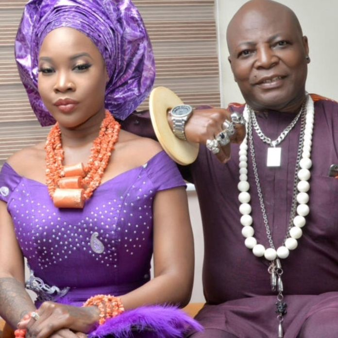 Charly Boy and Lesbian Daughter Dewy