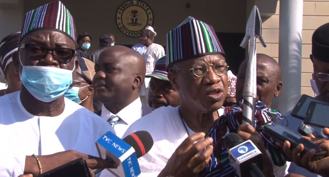 #EndSARS: Nobody Can Stop FG From Probing Protesters — Lai Mohammed