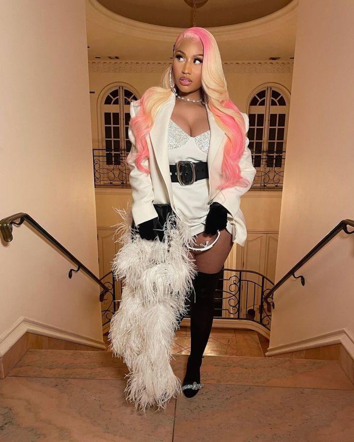 Nicki Minaj and Kenneth Petty Share Loved Up Snaps KOKO TV NG 3