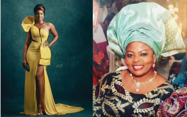Please Wake Me Up – Osas Ighodaro Says As She Loses Mum