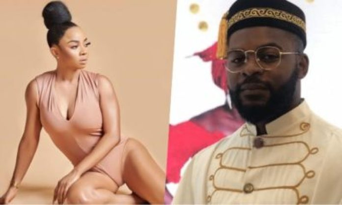Toke Makinwa's Nephew Encourages Her To Consider Falz As A Suitable Partner