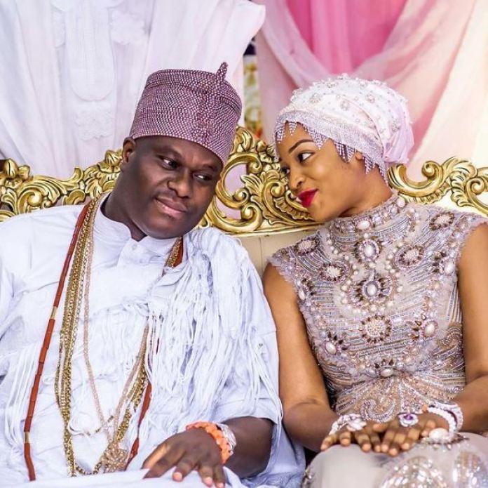 Ooni Of Ife Welcomes Son With Wife Olori Naomi Silekunola