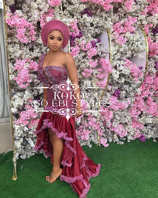 Show Off Your Style This Detty December In These Awesome Aso Ebi Styles