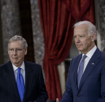 US Senate Republican leader McConnell Congratulates Joe Biden