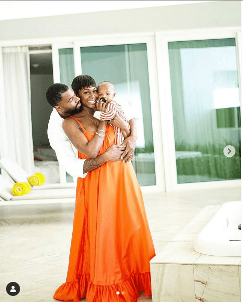 Mike Edwards And Wife, Perri, Celebrate Their Son On 1st Birthday