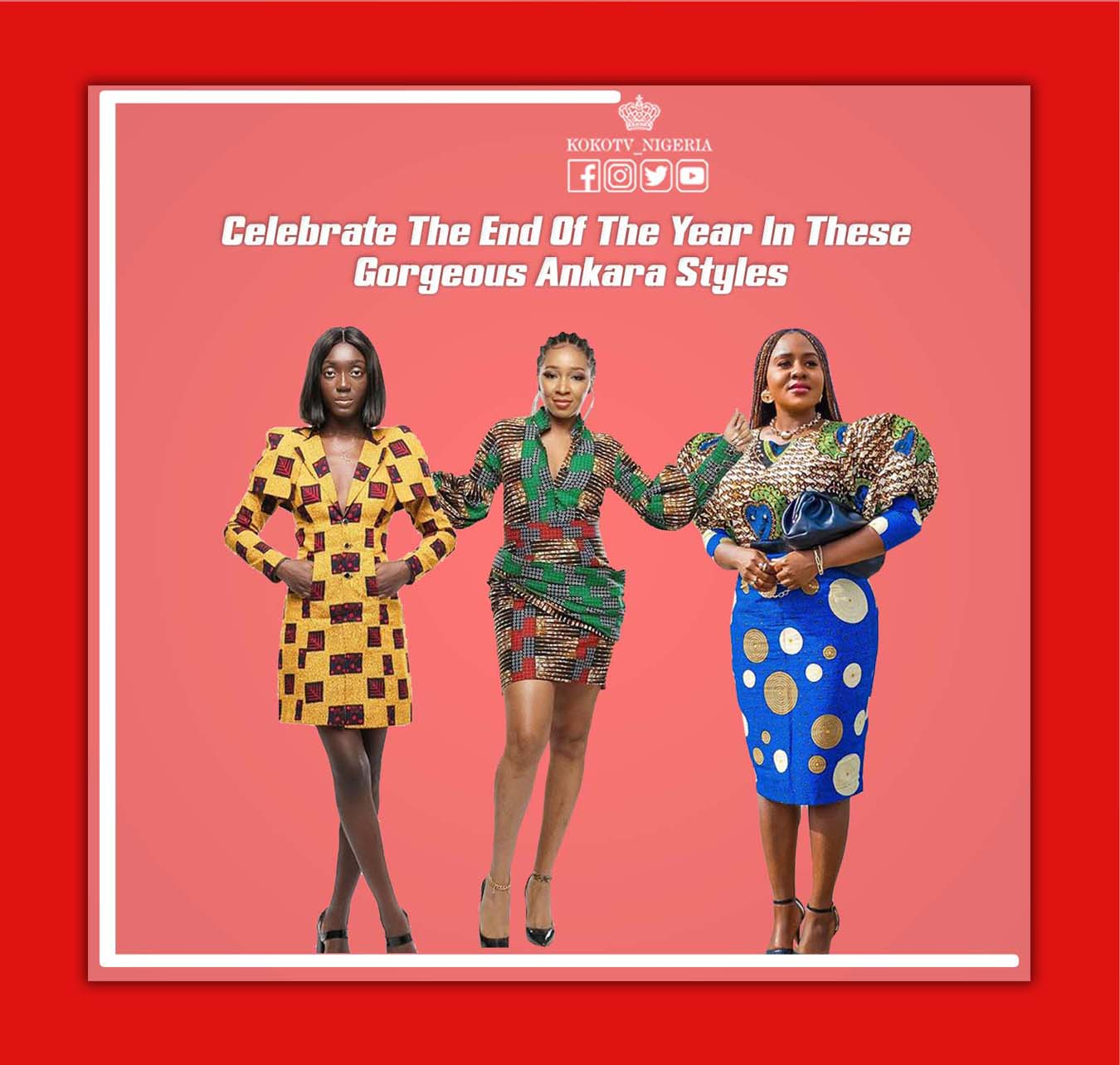 Celebrate The End Of The Year In These Gorgeous Ankara Styles