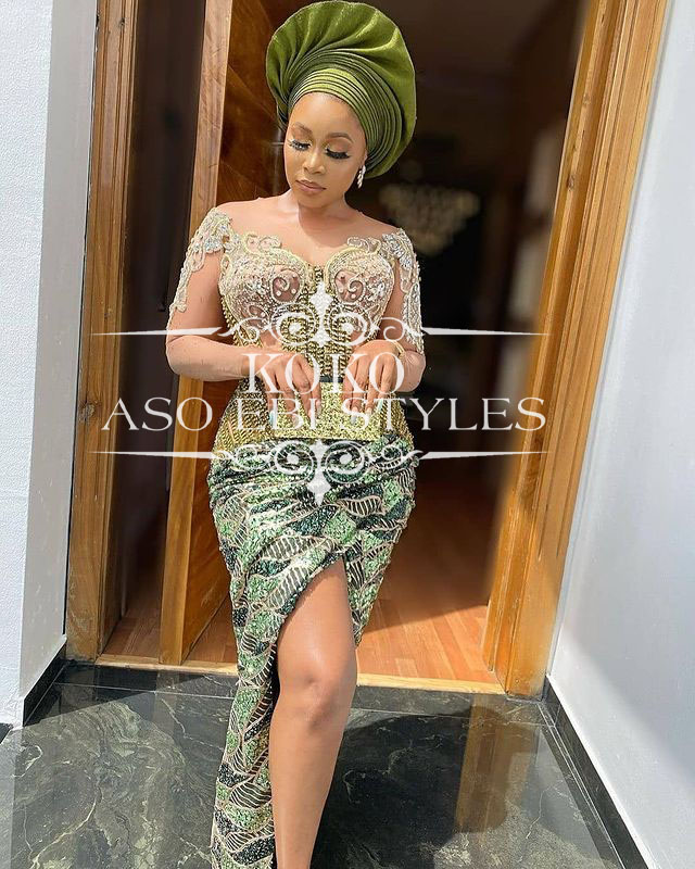 Serve Up Some Rich Aunty Vibes In These Gorgeous Aso Ebi Styles