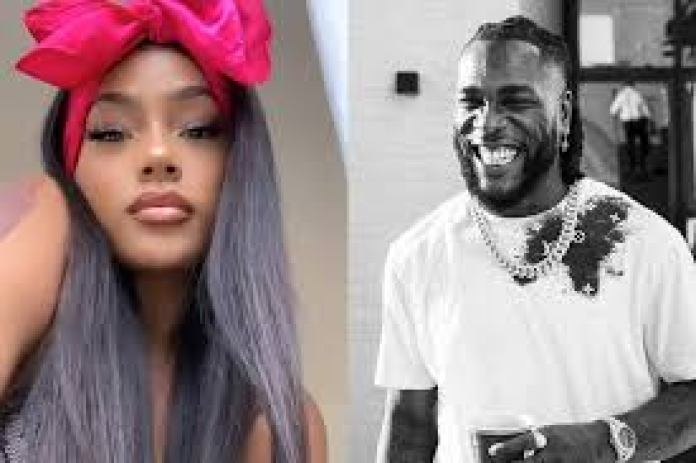 Burna Boy's Alleged Side Chick, Jopearl, Calls Him Out