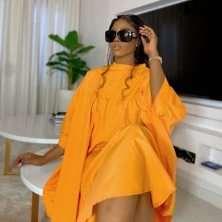 Lilian Afegbai Is Showing Us How To Press Necks In Style For The Week