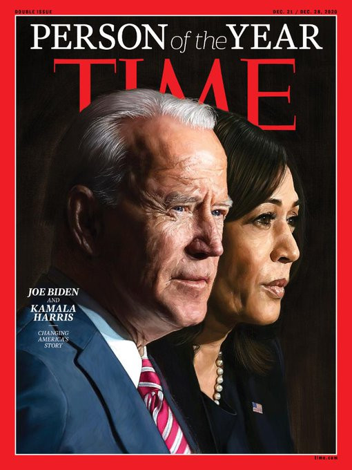 Time Magazine Names Joe Biden & Kamala Harris 'Person Of The Year'
