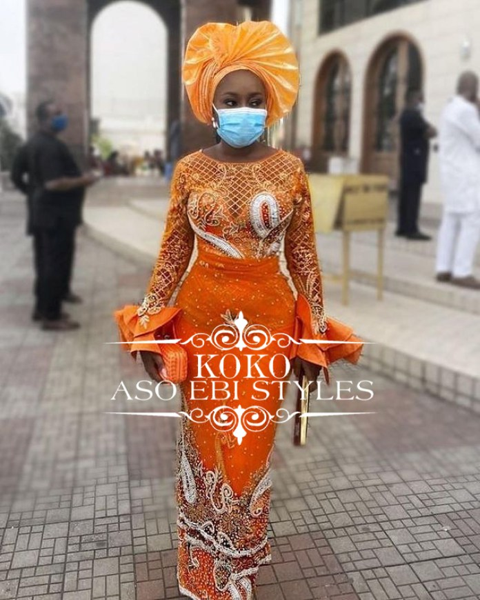 Bring Your Best Fashion Look To The Party In These Stunning Aso Ebi Styles
