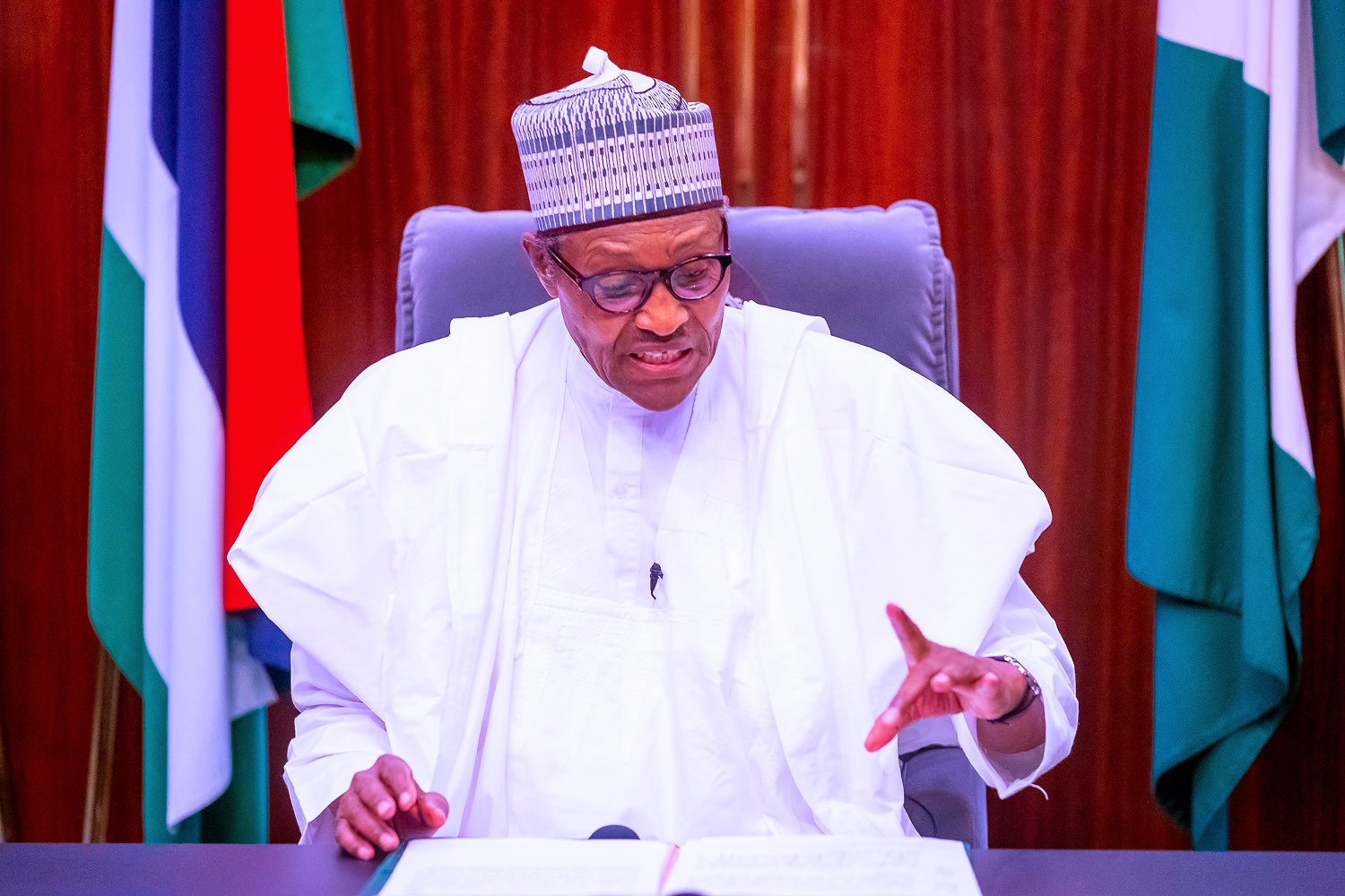 """This Year, We Will Finish What We Are Doing"" – Buhari Vows To End Insurgency This Year"