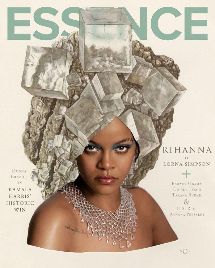 Rihanna Covers Essence Magazine'a January + February Issue