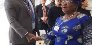 Adewale Adeleke and Ngozi Okonjo-Iweala