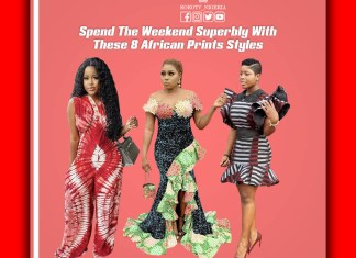 Spend The Weekend Superbly With These 8 African Prints Styles