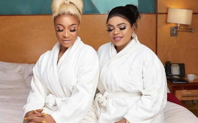 Bobrisky and Tonto Dikeh KOKO TV Nigeria Bobrisky Reveals Why Her Bestie Tonto Dikeh, Unfollowed Her