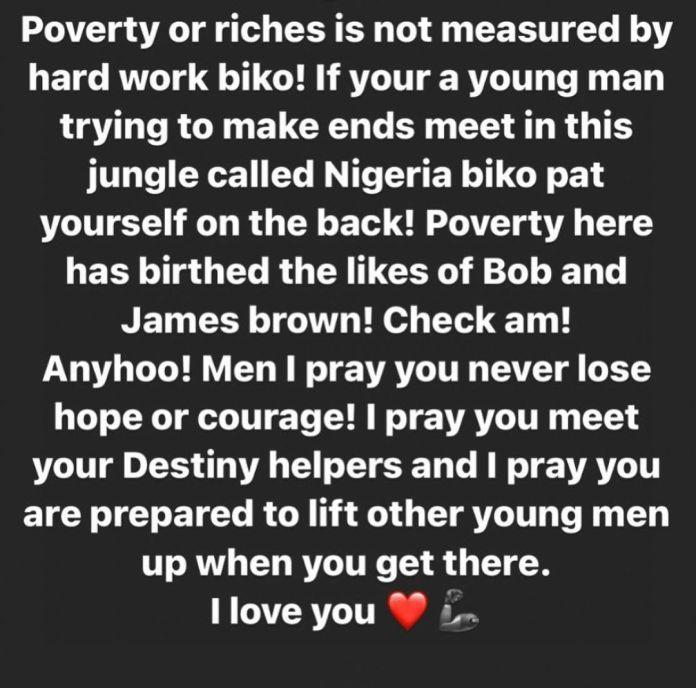 Poverty Birthed Bobrisky, James Brown - Destiny Amaka