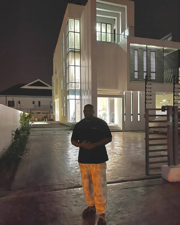 Don Jazzy Shares Video Of The Interior Of His New Home