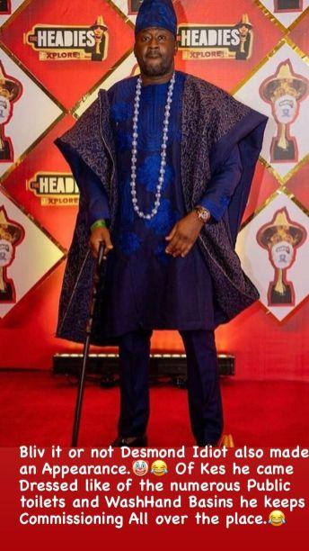 The Headies 2021 N6 reacts to celebrities' dressing KOKO TV Nigeria (17)