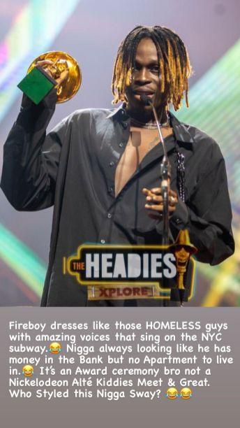 The Headies 2021 N6 reacts to celebrities' dressing KOKO TV Nigeria (18)