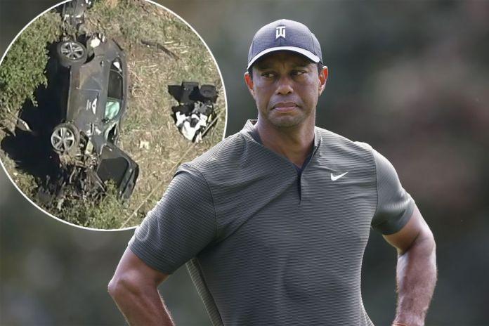 Tiger Woods Returns Home After Car Crash