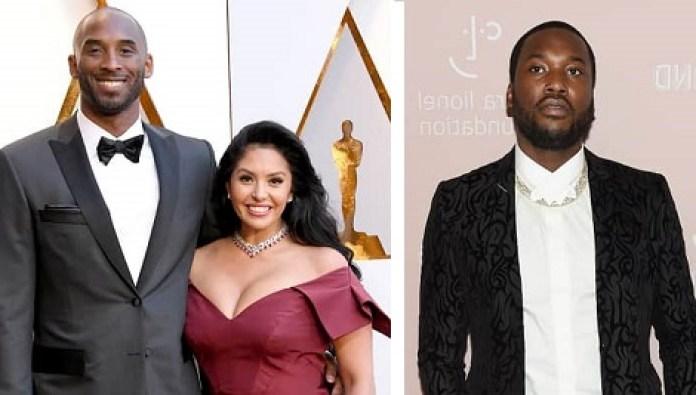 Kobe Bryant, Vanessa Bryant and Meek Mill