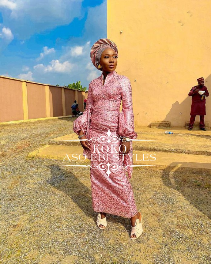 Look Radiant and Astonishing In These Fabulous Aso Ebi Styles